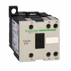 Schneider Electric CA2SKE20B7 ALTERNATING RELAY - 24-50/60,-4...122 deg.F (-20...50 deg.C),10 A,2 NO,24 V AC,AC-15, DC-13,IP2x,Screw clamp terminals,TeSys,UL, CSA, IEC,control circuit,control relay,plate-rail
