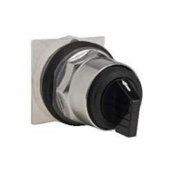 Square D™ Harmony™ 9001KS43B Type K Non-Illuminated Selector Switch, 30 mm, Maintained Operator, Black