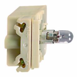 Schneider Electric 9001KM38LG 30MM LIGHT MODULE RESIST 120V LED GREEN,120 V,Direct,Harmony,LED (green),Light Module,Light module for illuminating 30mm control units
