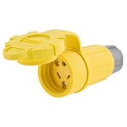 HUBW HBL15W07 WT CONN CRWFT N-NEMA 15A/125V/10A/250V