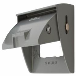 Hubbell Wiring Device-Kellems W/PROOF GFCI PLATE HORZ CAST ZINC