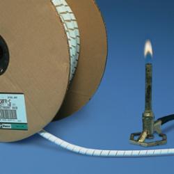 Panduit® T12FR-CY Spiral Wrap, FR, .12