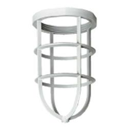 Killark® NV2GG Non-Metallic Guard, 4.39 in L x 4.39 in W x 6.69 in H, For Use With NV2 Series Lighting Fixture, Gray