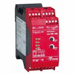 Schneider Electric XPSVNE3742P Safety Relay for Zero Speed Detection - 240 V,35 mm symmetrical DIN rail,Preventa Safety automation,for zero speed detection,Preventa safety module