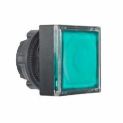Schneider Electric ZB5CW333 SQUARE FLUSH ILLUM FOR PROTECTED LED GREEN,22 mm,illum push-button,Harmony XB5,green,head for illuminated push-button,head for illuminated push-button,plastic,illum push-button,spring return
