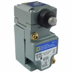 Square D 9007C52G LIMIT SWITCH 600V 10AMP C +OPTIONS,-,metal,plug-in,-20...185 deg.F for standard environment,0.5 Inch NPT Conduit Entrance (screw clamp terminals),1 entry for 1/2 - 14 NPT conforming to ANSI B1.20.1,plug-in,10 A,600V,9007,limit switch,plug-in,plunger head,9007C,9007C,heavy duty,plunger head,NC-NO,NEMA A600/Q600,Side Push-Rod Horizontal,UL Listed - CSA Certified - CE Marked,linear,standard environment