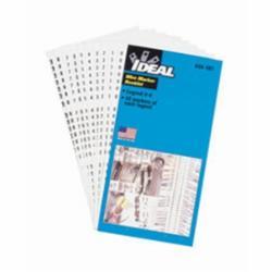 IDEAL 44-102 WIRE MARK BOOKS LEG.ASST. +,-,/,0-15,A-Z