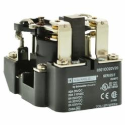 Square D 8501CDO22V53 RELAY 220VDC 4AMP TYPE C +OPTIONS,-22 to 140 Degrees F,-67 to 131deg.F,1-Phase,10 of nominal,2 NO/2 NC DPDT,24 Vdc,290 ,30A,85 of nominal,DC Rated,Panel Mount,Panel Mount,Screw Clamp,Screw Clamp,Suited for controlling small single phase motors and other light loads such as electric heaters, pilot lights or audible signals.,UL Listed File E78351 CCN NLDX - CSA Certified File 209683 Class 3211 04 - CE Marked