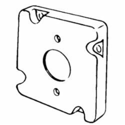 APP 8496 4-11/16 IN SQ CVR SGL RCPT 20A TWST LCK 1.59
