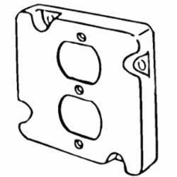 APP 8491N 4-11/16 RAISED CVR 1-DPLX