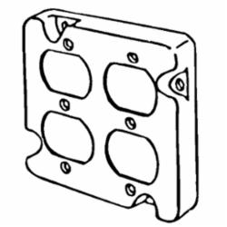 APP 8492N 4-11/16 RAISED CVR DBL DPLX