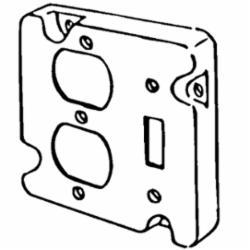 APP 8493N 4-11/16 RAISED CVR 1-DPLX & 1-TGL
