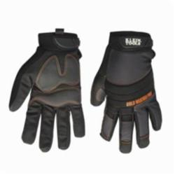 Klein® Journeyman™ 40212 Cold Weather Pro Gloves, Large, Rubber Palm, Black