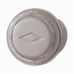 NuTone® PB18WHCL Round Wired Pushbutton, 12 VAC/VDC, Surface Mount, Clear/White