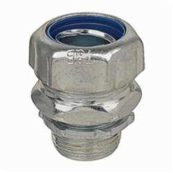 T&B Industrial Fitting 5234-TB Non-Insulated Liquidtight Conduit Connector, 1 in Trade, Straight, Steel