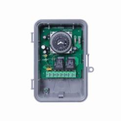 INT-MAT GM40AV 24-Hour Electromechanical, 40A, SPDT/DPDT, Auto-Voltage, NEMA 3R Outdoor Plastic Enclosure