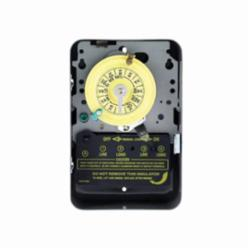 Intermatic® T105 Electromechanical Mechanical Timer, 24 hr Time Setting, 125 VAC, 5 hp, 1NO SPDT Contact Form, 1 Pole