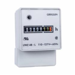 INT-MAT UWZ48A-120U AC Hour Meters Surface Mount, Screw Terminals w/terminal cover, 120V, 60Hz