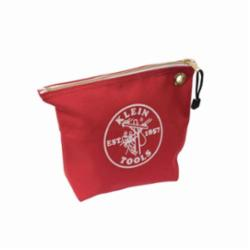 KLEIN 5539RED 10X8 ZIPPER BAG
