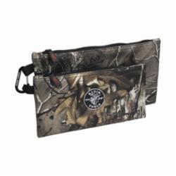 KLEIN 55560 Camo Zipper Bags, 2-pack