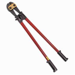 Klein® 63524 Center Cut Bolt Cutter, 7/16 in Soft/Medium Metals, 5/16 in Hard Metals Cutting, Steel/Vinyl Handle