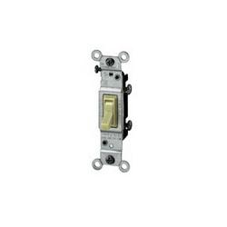 Leviton® 1451-2I Toggle Switch, 120 VAC, 15 A, 1/2 hp