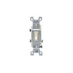 Leviton® 1453-2T 3-Way Toggle Switch, 120 VAC, 15 A, 1/2 hp