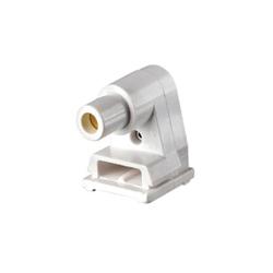 Leviton® 2536 Plunger End Standard Lamp Holder, 660 W, 1000 VAC, Single Pin Fluorescent Lamp