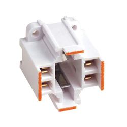 Leviton® 26725-413 Lamp Holder, 75 W, 600 VAC, 4-Pin G24q-3/GX24q-3 Fluorescent Lamp