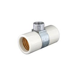 LEV 4006 PORC DBL MED LAMPHOLDER