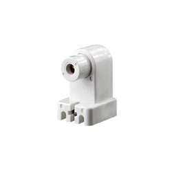 Leviton® 466 Plunger End Standard Lamp Holder, 660 W, 1000 VAC, Single Pin Fluorescent Lamp