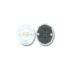 Leviton® 524 Standard Lamp Holder, 660 W, 600 VAC, Double Contact Fluorescent Lamp