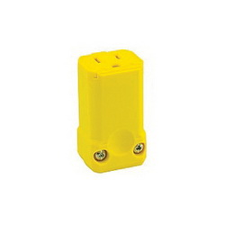 LEV 5259-VY 15A 125V FEMALE YELLOW