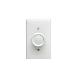 Leviton® Trimatron 6616-1XI Electro-Mechanical Full Range Fan Speed Control, 120 VAC, 5 A, On/Off Operation, White