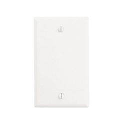 LEV 88014 1G WHT BLANK PLATE