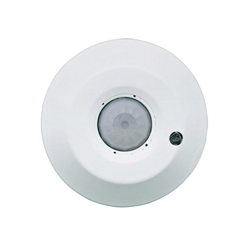 Leviton® ODC04-IDW Line Voltage Ceiling Mount Occupancy Sensors, 120/230/277 VAC, Passive Infrared Sensor, 360 deg
