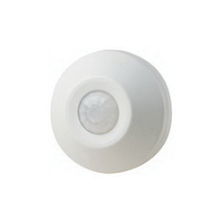 Leviton® ODC0S-I1W Line Voltage Ceiling Mount Occupancy Sensors, 120 VAC, Passive Infrared Sensor, 530 sq-ft Coverage