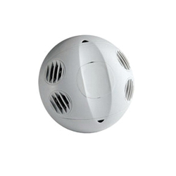 Leviton® OSC20-U0W Low Voltage Ceiling Mount Occupancy Sensors, 24 VAC, Ultrasonic Sensor, 2000 sq-ft Coverage, 360 deg