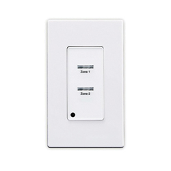 Leviton® ZMDSW-2W Z-MAX SWITCH 2 BUTTON