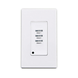 Leviton® ZMDSW-3W Z-MAX SWITCH 3 BUTTON