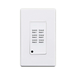 Leviton® ZMDSW-6W Z-MAX SWITCH 6 BUTTON