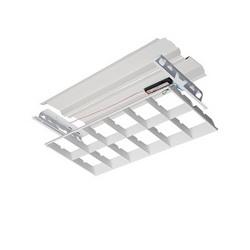 LITH 2ES8RT232BINP10SI 2X4 2 LAMP T8 INSTANT START FLUORESCENT PARABOLIC RETROFIT KIT, 120-277V
