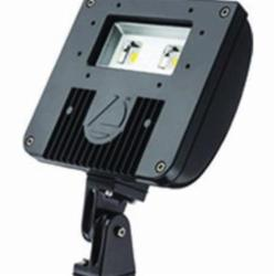 Lithonia Lighting® DSXF1 LED 2 50K M4 Flood Light Fixture, LED Lamp, 120/277 VAC, Bronze Housing