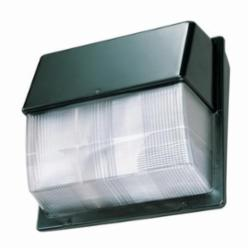 Lithonia Lighting® TWP 100S TB LPI Wallpack, 1 HID Lamp, 100 W Fixture, 120/208/240/277 VAC, Dark Bronze Housing