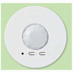 Lutron® LRF2-OCR2B-P-WH Radio Powr Savr™ Energi TriPak® Wireless Occupancy sensor, 324 to 676 sq-ft Coverage, 360 deg, Ceiling Mount