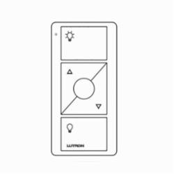 Pico® PJ2-3B-GWH-L01 Wireless Lighting Control Switch, 3 VDC, White