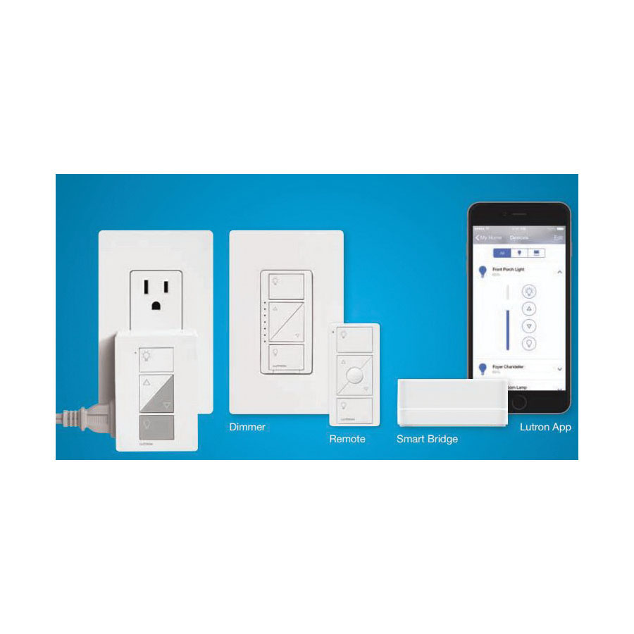 Lutron Electronics PRO BRIDGE KIT 1 WALL | Steiner Electric Company