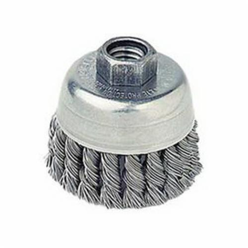 WEILER 13256 2-3/4 WIRE CUP BRUSH .020 S.S.