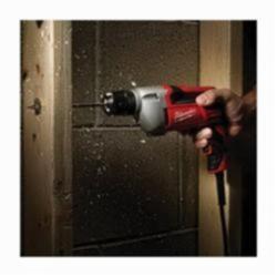 Milwaukee® 0240-20 Heavy-Duty Electric Drill, 3/8 in Keyless Chuck, 400 in-lb Torque, 120 VAC (Bare Tool)