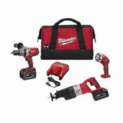 Milwaukee® M28™ Cordless Combination Kit, 8 Pieces, Red with Black Overmold (Kit)